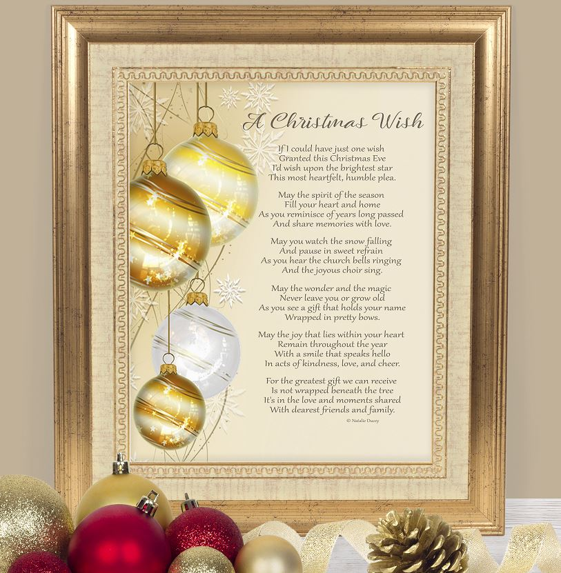A Christmas Wish - Poem by Natalie Ducey