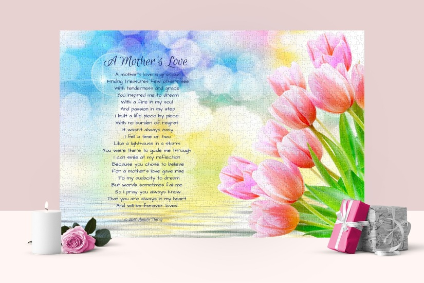 A Mother's Love ~ Peace by Piece Puzzle Collection