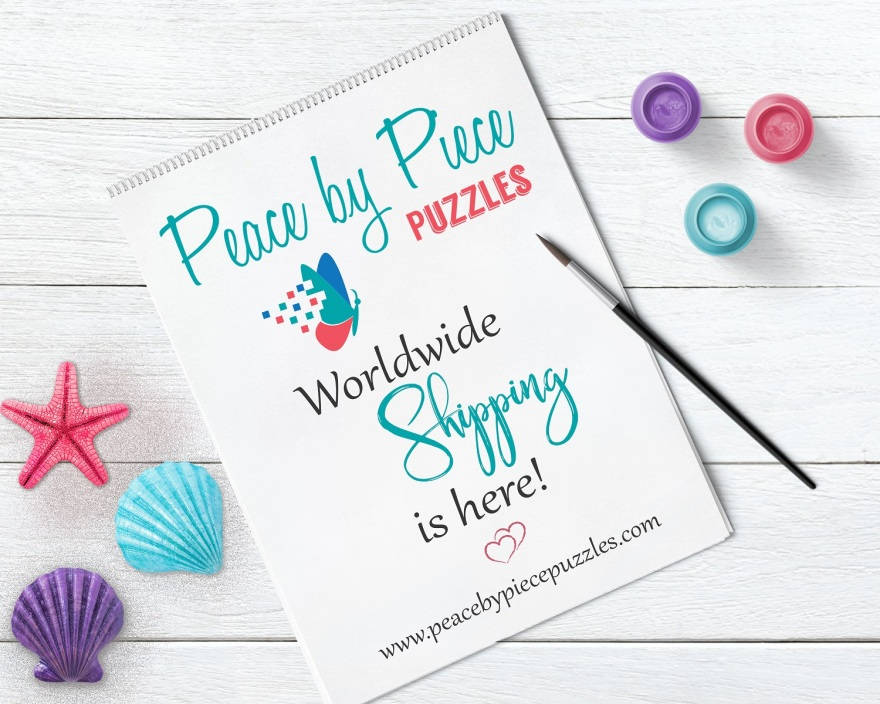 Peace by Piece Puzzles ~ Worldwide Shipping is Here!
