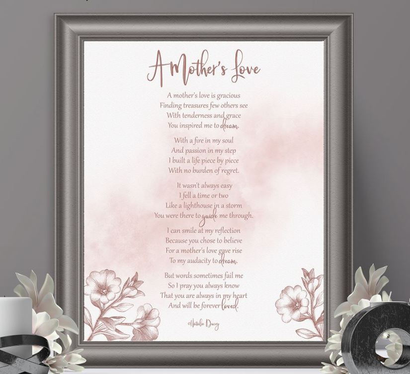 A Mothers Love ~ a poem by Natalie Ducey