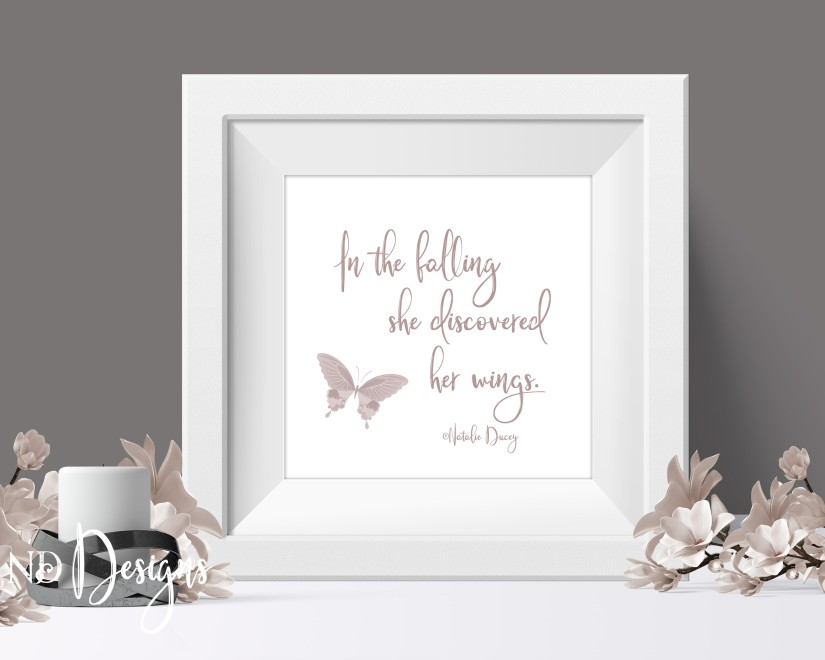 Square White Frame Mockup accented with flowers and candle available at ND Graphic Designs
