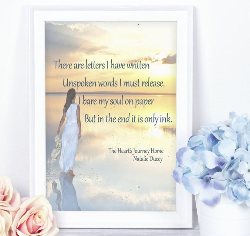 The Heart's Journey Home ~ A poetry collection by Natalie Ducey