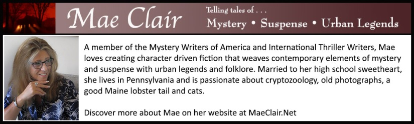 Author Mae Clair