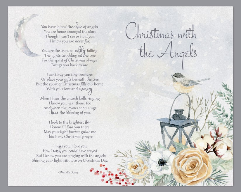 Christmas with the Angels by Natalie Ducey