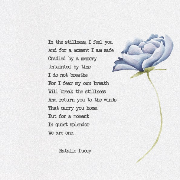 One ~ A poem about Eternal Love by Natalie Ducey